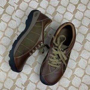 Keen Size 10 Presidio Brown Leather Lace Up Shoe